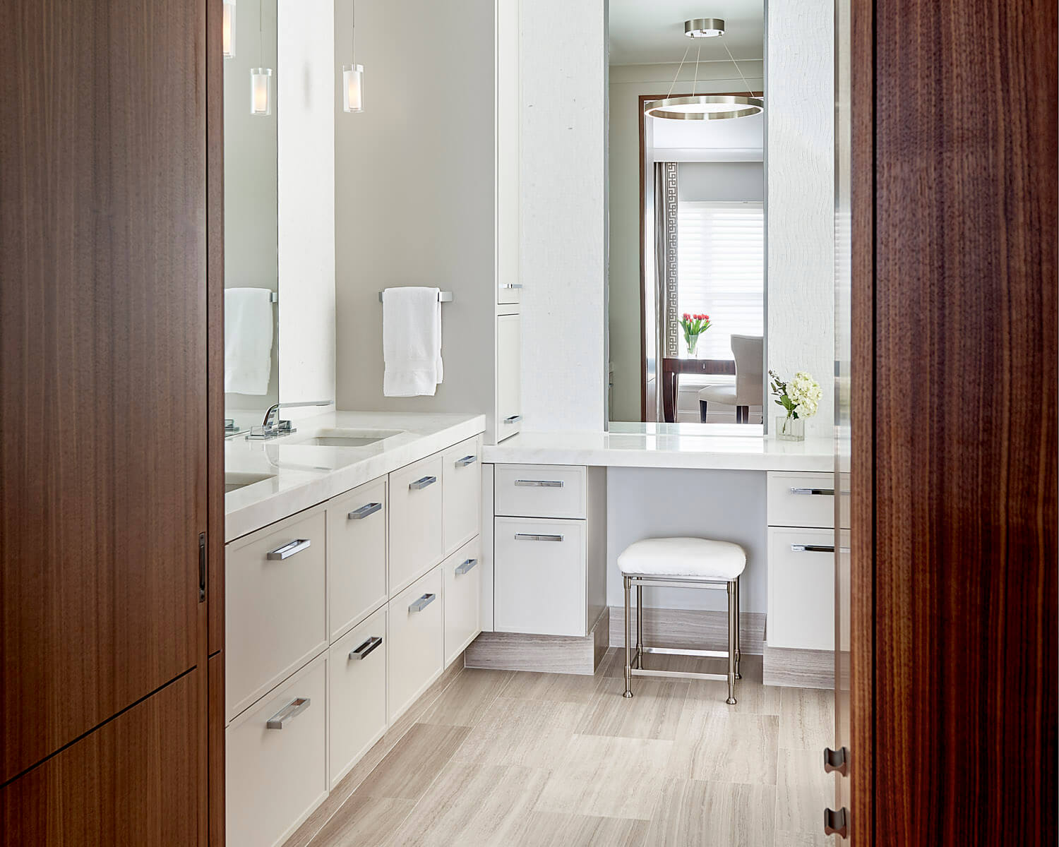 Modern Cabinetry Design For The Bath