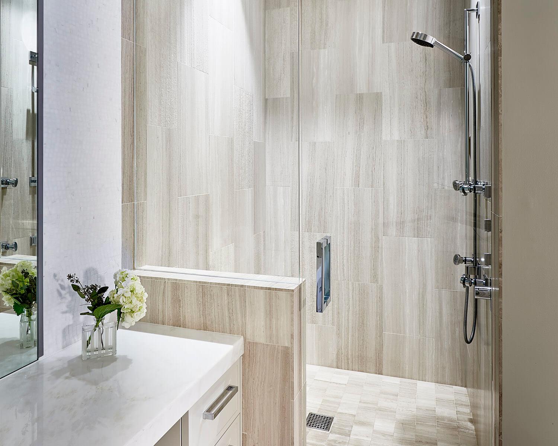 Complete Bathroom Remodel - Including Custom Cabinets