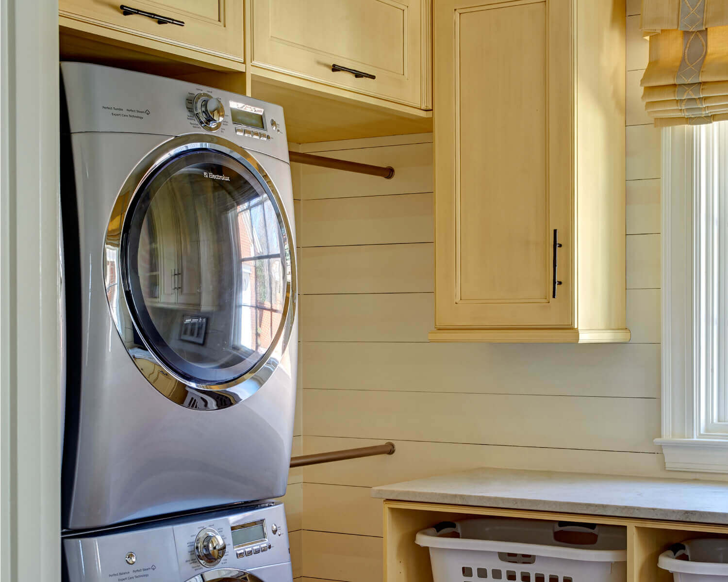 Make Laundry Day Easier And More Efficient With Custom Cabinets