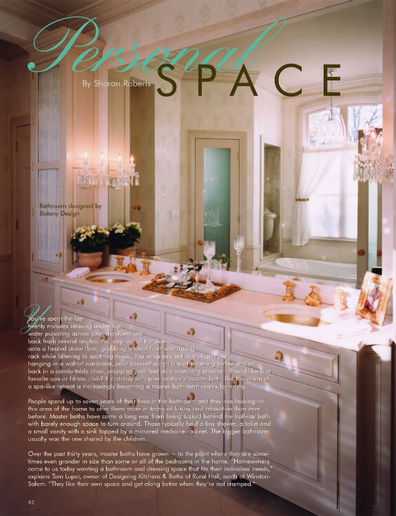 Custom Bathroom Design and Cabinet Makers in NC